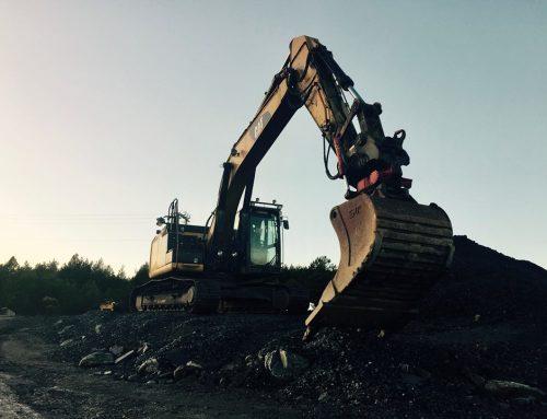 Caterpillar 324E 2012-modell (30 tonn)